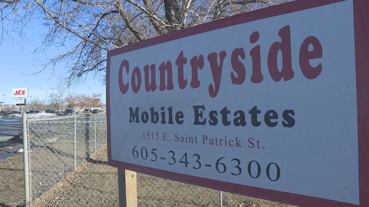 The manager of Countryside Properties, Cynthia Akers, is charged with failing to renew her operating permit for mobile homes. (KOTA)