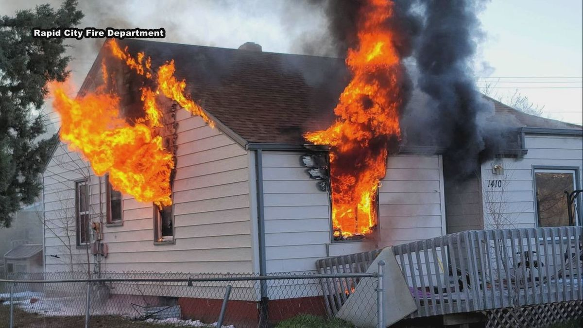 Around 6:30 this morning, the Rapid City Fire Department was called to a structure fire on the...