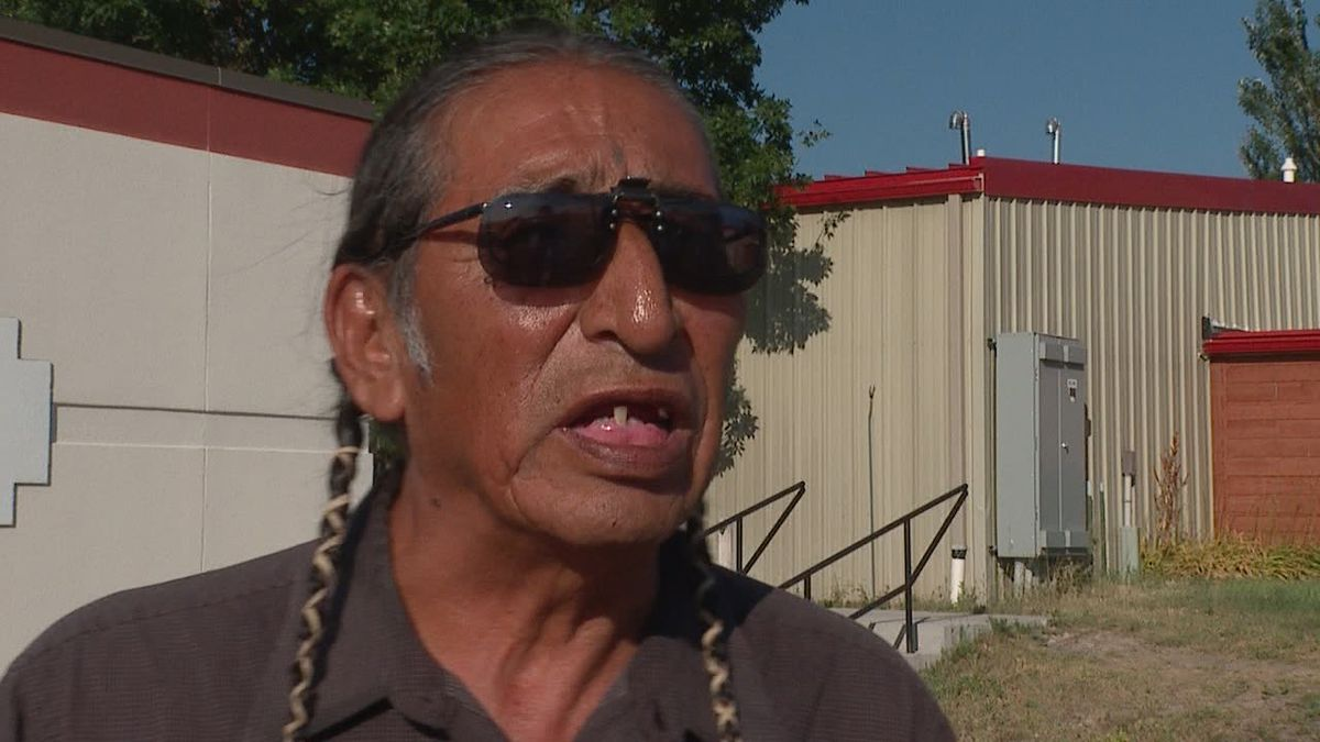 Oglala Sioux Tribal Member Dave Swallow expresses concern over cooperative agreements between the tribe and Pennington County law enforcement.