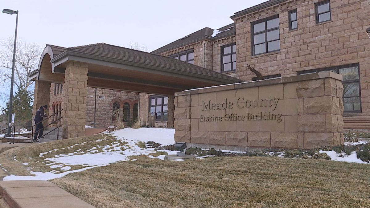 Meade County Office Building in Sturgis.
