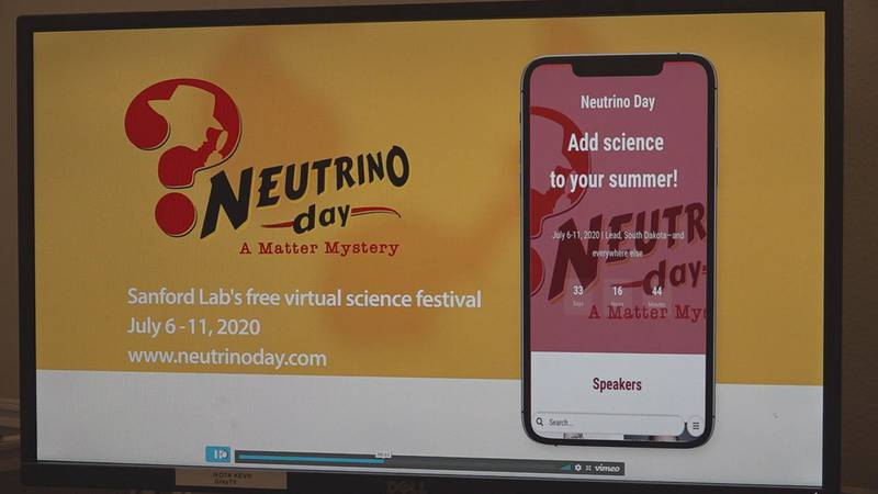 Neutrino Day by Sanford Underground Research Facility has been extended to a week.