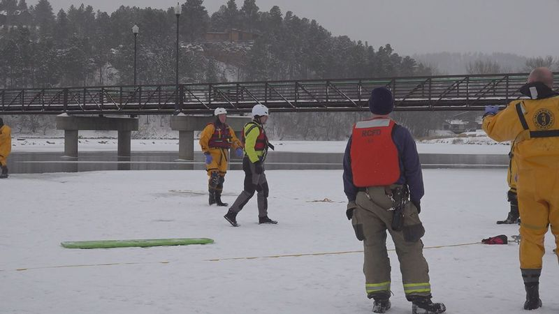 After previously occurring once every year, The Rapid City Fire Department now trains its...
