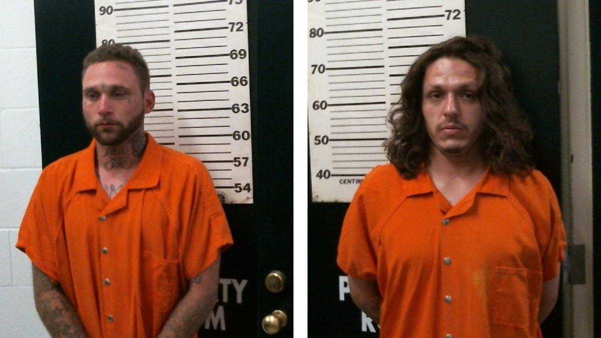 Pictured: David Mestas, 26 (left) and Richard Sanchez, 26 (right)