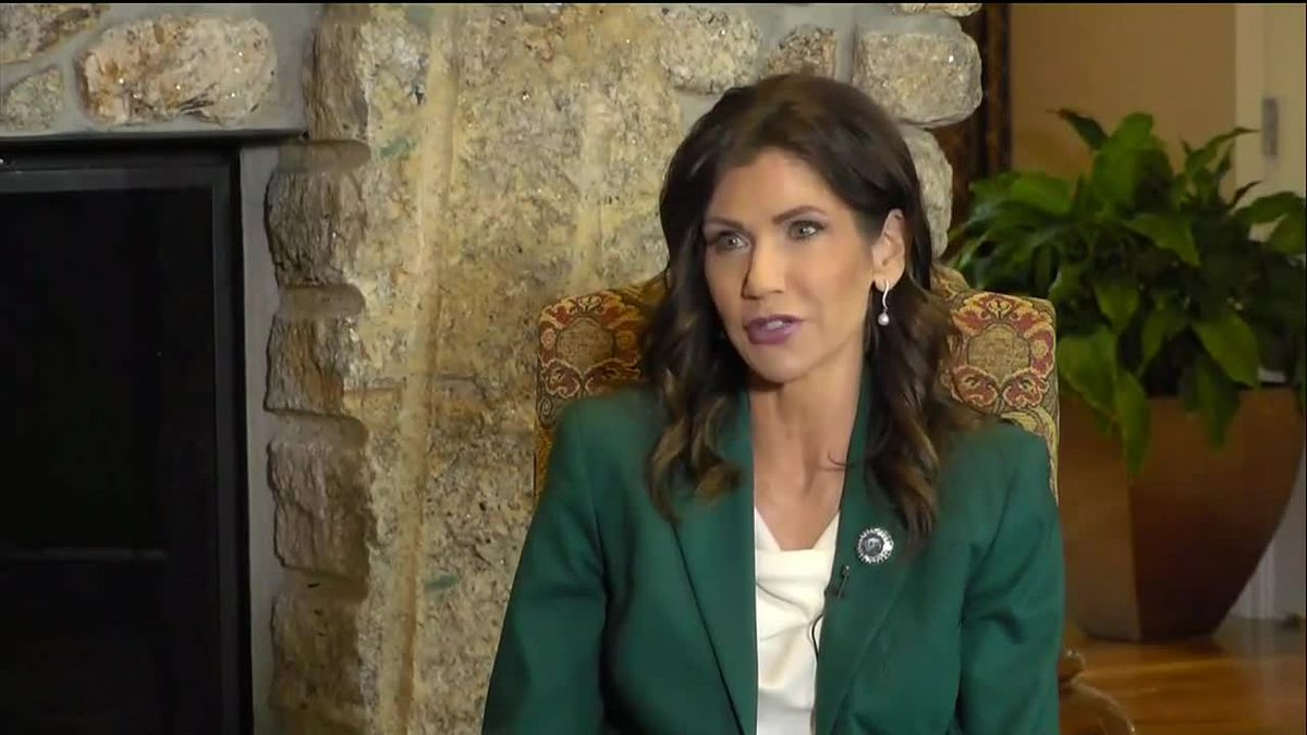 SD Gov. Noem answers questions in exclusive interview