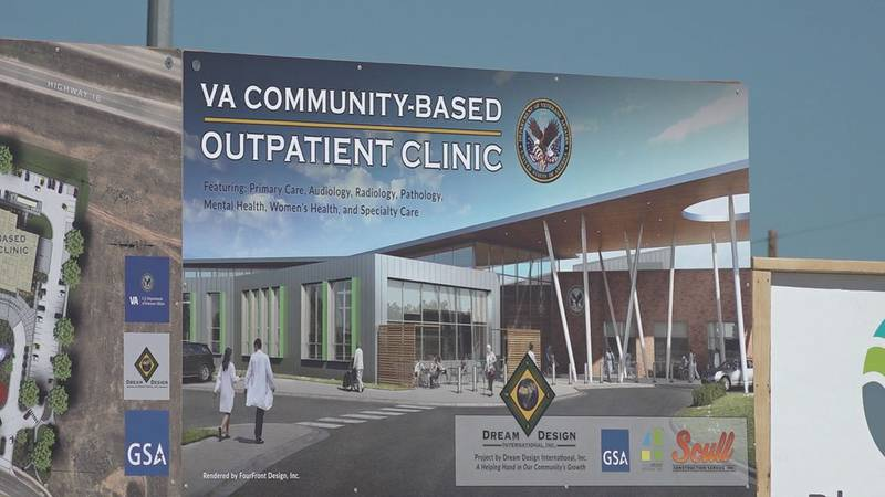 The new clinic will double the space of the current clinic.