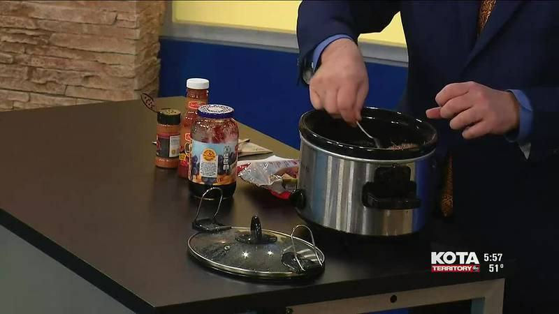 Cooking Beef with Eric - Grape Jelly Meatballs