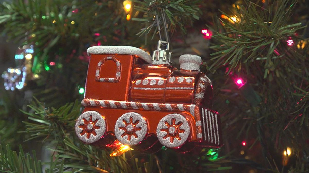 For over a decade the South Dakota State Railroad Museum has decorated its railroad memorabilia...