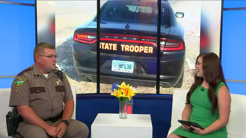 Trooper of the Year shares his love for his job